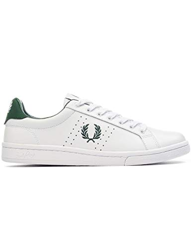 Zapatillas Mujer Fred Perry B721 Leather Blanco 38 Blanco