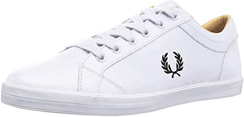 Fred Perry Baseline Leather White B3058100, Deportivas - 43 EU