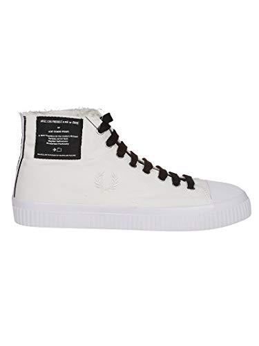 Luxury Fashion | Fred Perry Hombre FPB5266303 Blanco Zapatillas Altas | Temporada Outlet