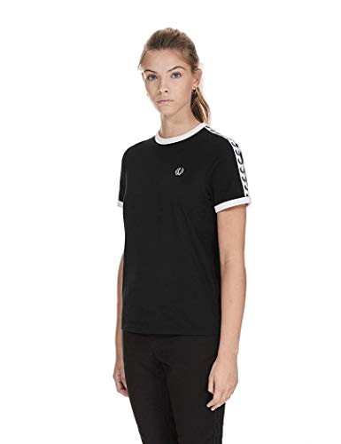 Fred Perry Sports Authentic Taped Ringer T-Shirtt G6347 102-10