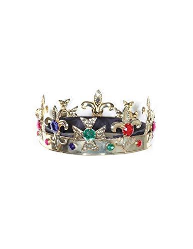 DISBACANAL Corona de Rey Medieval