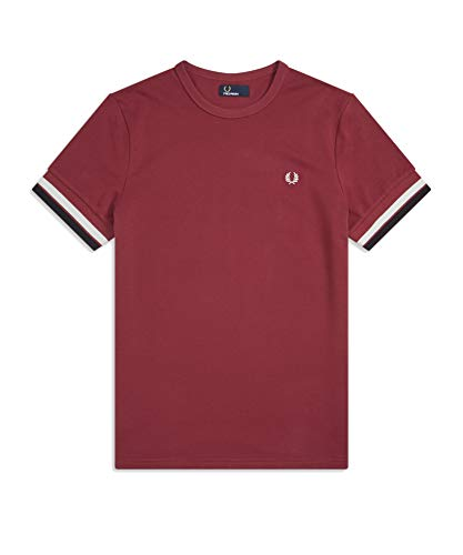 Fred Perry Bold Tipped T-Shirt, Camiseta - M