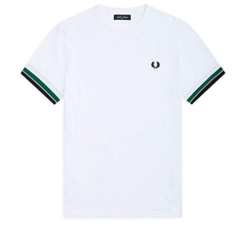 Fred Perry Bold Tipped T-shirt, Camiseta - XL