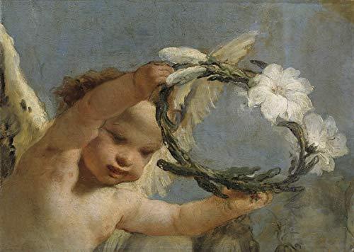 Berkin Arts Giovanni Battista Tiepolo Giclee Lienzo Impresión Pintura póster Reproducción...