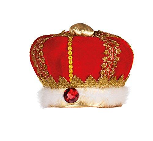 kings Crown Fabric Hat ~ Fancy Dress (gorro/sombrero)