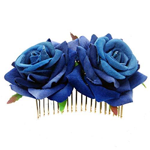 Miaoo - Horquilla para el pelo con diseño de flamenco, pinza para el cabello, para damas de honor,...