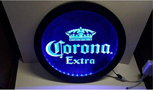 1A Products Corona Extra RGB LED Control inalámbrico Cerveza Bar Pub Club neón luz Signo Especial...