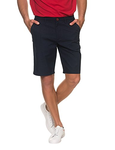 Fred Perry 0736Z Bermuda uomo Cotton Blue/Black Pantalone Corto Shorts Man [30]