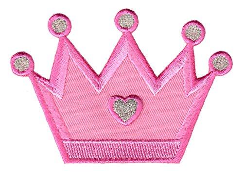 PatchMommy Corona de Princesa Parche Termoadhesivo Parche Bordado para Ropa - Parches Infantiles y...