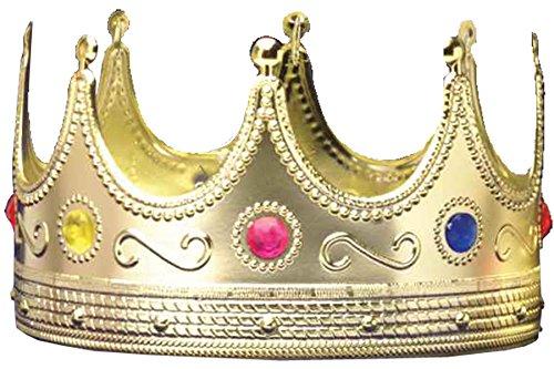 Forum Novelties Inc. Regal King Crown Size One-Size (disfraz)