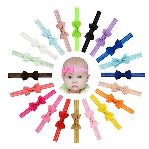 Vendas del pelo de la venda de las muchachas del bebé del Bowknot de la cinta del Grosgrain Stretch...