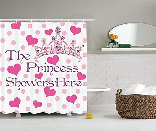 Aliyz Citas Divertidas Baby Shower Serie decoración cumpleaños Princess Shower corazón y Corona...